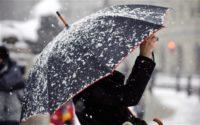 На вихідні знову повернеться тепло і сніг з дощем
