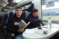"""""""Укрзалізниця"""" запустила продаж книжок у вагонах потягів"""