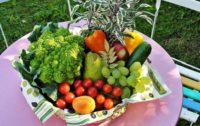 Серпень: час їсти овочі і фрукти