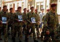 Як Чернівці зустріли військових  3-ї батальйонної тактичної групи 80-ї окремої десантно-штурмової бригади