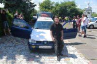 У чернівчанина «SEAT Ibiza» «Синя ракета» обладнаний автозвуком, дорожчим за сам легковик