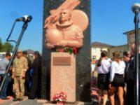 Відкриття пам'ятника Леоніду Каденюку, першому космонавту незалежної України