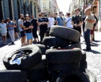 Акція проти бездоріжжя у Чернівцях…