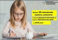 Майже 56 млн грн аліментів – буковинським дітям