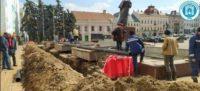 Фонтан на Центральній площі Чернівців запрацює вчасно і без зайвих втрат води