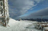 Снігом почалося літо у Карпатах…