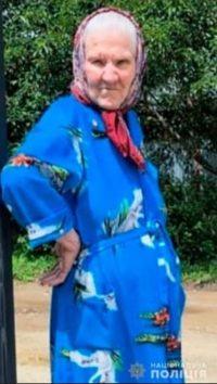 Поліція Буковини розшукує безвісти зниклу пенсіонерку