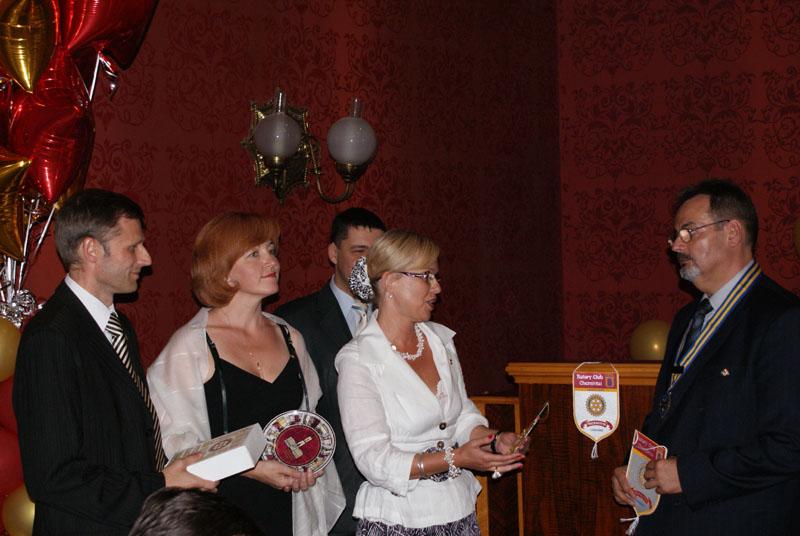 Урочисте вручення хартії Rotary Club Chernivtsi