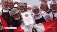 У Перу виготовили найбільшу в світі шоколадку
