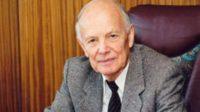 Президенту Національної академії наук України академіку Борису Патону виповнилося 99 років